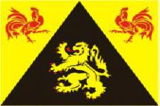 Flagge Fahne Wallonisch Brabant 90 x 150 cm