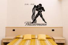Wandtattoo Sternzeichen Wassermann Motiv Nr. 1