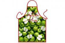 Schürze Äpfel 56 x 73 cm