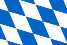 Flagge Fahne Bayern Raute 90 x 150 cm