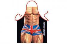 Schürze British Macho 56 x 73 cm