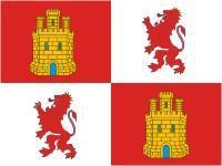 Flagge Fahne Kastilien und Leon 90 x 150 cm