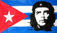 Flagge Fahne Kuba mit Che Guevara 90 x 150 cm