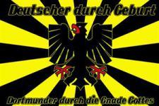 Flagge Fahne Dortmunder Gnade Gottes 90 x 150 cm
