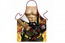 Schürze Feuerwehrmann 56 x 73 cm