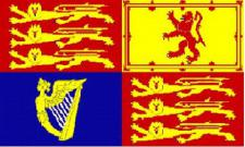 Flagge Fahne Großbritannien Royal 90 x 150 cm