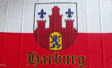 Flagge Fahne Hamburg Harburg 90 x 150 cm