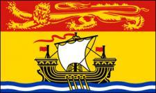 Flagge Fahne New Brunswick 90 x 150 cm