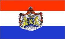 Flagge Fahne Niederlande Wappen 90 x 150 cm