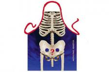 Schürze Skelett 56 x 73 cm