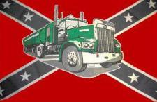 Flagge Fahne Südstaaten Tank-Truck 90 x 150 cm