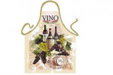 Schürze Vino Trauben 56 x 73 cm