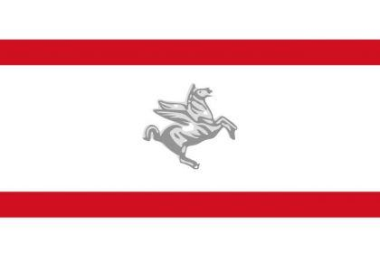 Flagge Fahne Toskana 90 x 150 cm - Vorschau