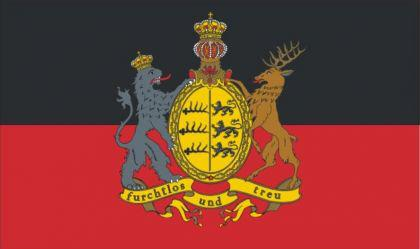 Flagge Fahne Württemberg f & t 90 x 150 cm