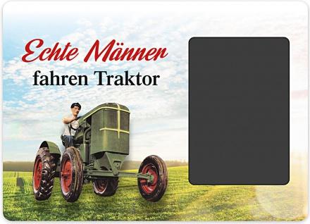 Kultrahmen - Echte Männer fahren Traktor