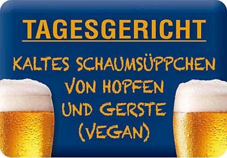 Kult-Hänger Tagesgericht Bier?