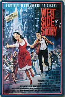 West Side Story Blechschild