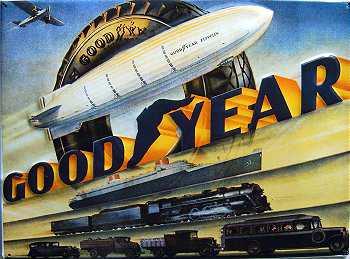 Good Year Blechschild, 40 x 30 cm - Vorschau