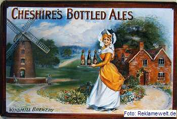 Cheshires Bottled Ales Blechschild - Vorschau