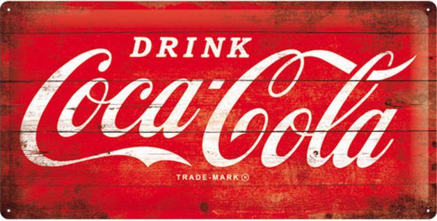 Coca-Cola - Logo Red Blechschild