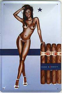 Sara Horwath Stern-Cigar Blechschild - Vorschau