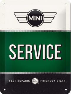 Mini Cooper - Service Blechschild - Vorschau