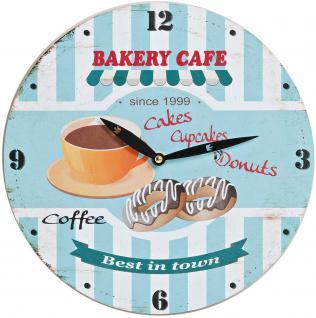 Wanduhr - Coffee-Bakery Cafe