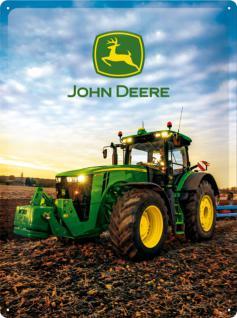 John Deere - Modell 8370 R Blechschild