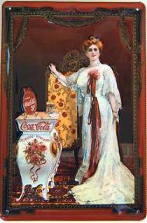 Coca Cola Queen Blechschild