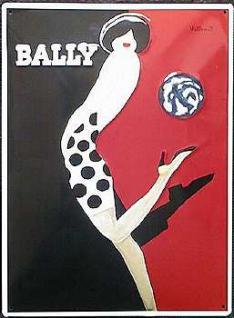 Bally Schuhe Blechschild - Vorschau