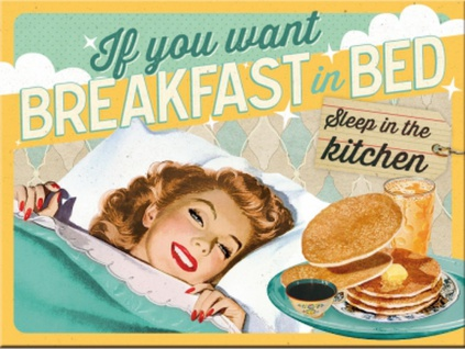Magnet 50's - Breakfast in Bed