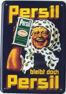 Blechpostkarte Persil bleibt doch Persil (Oma) - Vorschau