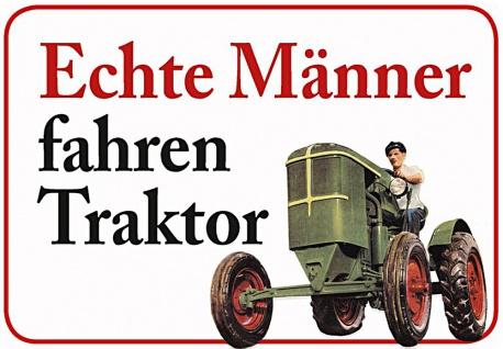 Kult-Hänger Echte Männer fahren Traktor
