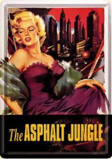 Blechpostkarte Asphalt Jungle