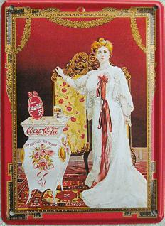 Coca Cola - Queen Mini Blechschild