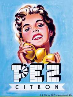 Magnet Pez Citron