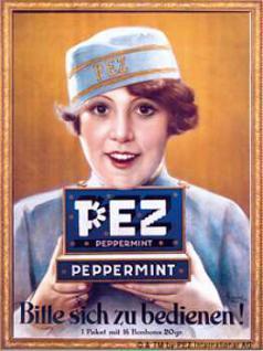 Magnet Pez Peppermint - Vorschau