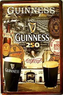 Guinness 250 Years Blechschild