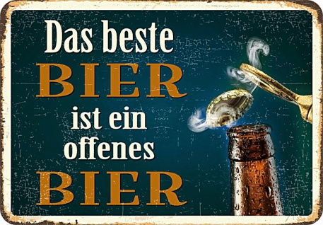 Kult-Hänger Das Beste Bier