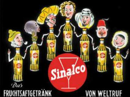 Magnet Sinalco - Flaschen