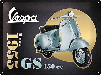 Vespa - GS 150 Since 1955 - Special Edition Blechschild