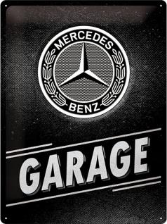Mercedes-Benz - Garage Blechschild