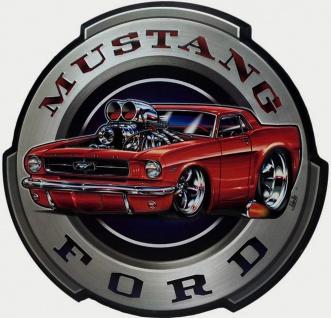 Ford - Mustang Blechschild