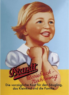Brandt Mini Blechschild