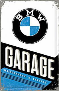 BMW - Garage Blechschild