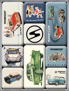 Magnet-Set Trabant - Vorschau