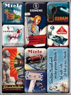 Magnet-Set Deutsche Traditionsmarken