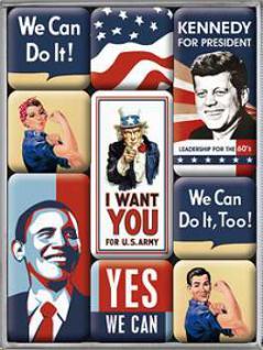 Magnet-Set Unites States of America