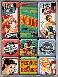 Magnet-Set Best Garage