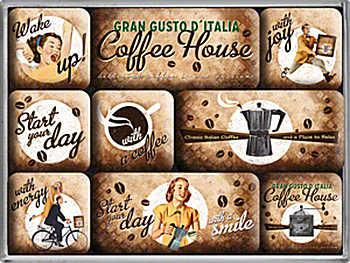 Magnet-Set Coffee House